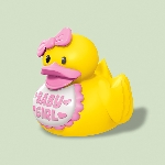 RUBBER DUCKS BABY SHWR Rosa