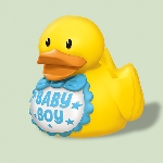 RUBBER DUCKS BABY SHWR Azul