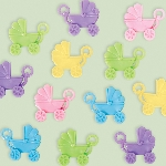 CHARMS CARRIAGE NEUTRAL BABY