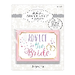 Tickets Advice for the Bride Cards