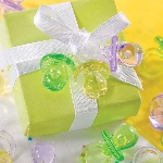 Cajas de regalo Multi-Colours Mini Plastic Dummy Favours