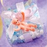 Cajas de regalo Plastic Tiny Baby Favours