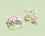 Cajas Clear Pink Favour Boxes