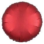 Satin Luxe Sangria Circle (EMPAQUETADOS)