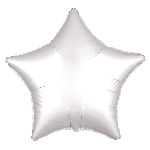 Satin Luxe White Star
