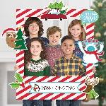 Photo kit Giant Customisable Christmas Frames 76cm x 88cm