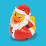 Juguete Santa Rubber Ducky 6cm