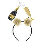 Diadema Champagne & Flute Head