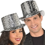 Sombrero Disco Ball Drop Top Hats