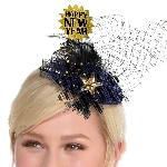 Accesorio pelo Midnight HNY Clip On Couture Hats