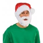 Santa Gorro w beard Adult Std