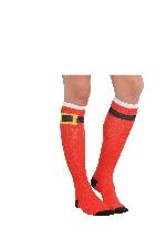 Acc. Disfraz Adulto Santa Belt Calcetines