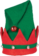 Acc. Disfraz Adulto Elf gorro with Bells