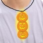 Glow Pendant Collar -Pumpkin