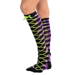Disfraz Acc Laced Up Knee High Socks - Adulto