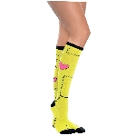 Disfraz Acc Monster Stich Knee High Socks - Adulto
