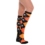 Disfraz Acc Orange Argile Knee High Socks - Adulto