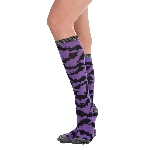 Disfraz Acc Bat Knee High Socks - Adulto