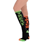 Disfraz Acc Trick or Treat Knee High Socks - Adulto