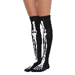Disfraz Acc Bones Over Knee Socks - Adulto