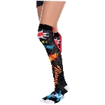 Disfraz Acc Super Hero Over Knee Socks - Adulto