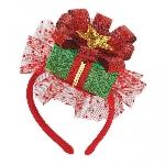Acc. Disfraz diadema Christmas Gift Fascinator
