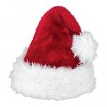 Acc. Disfraz gorro Adulto Santa Deluxe 40cm x 27cm
