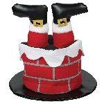 Acc. Disfraz Adulto Santa Chimney Hats