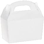 Caja White Gable 12cm w x 6.3cm l x 11cm d