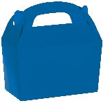 Caja Royal Blue Gable 12cm w x 6.3cm l x 11cm d