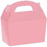 Caja Bright Pink Gable 12cm w x 6.3cm l x 11cm d