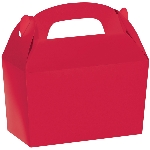 Caja Apple Red Gable 12cm w x 6.3cm l x 11cm d