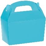 Caja Caribbean Blue Gable 12cm w x 6.3cm l x 11cm d