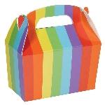 Caja Rainbow Gable 12cm w x 6.3cm l x 11cm d