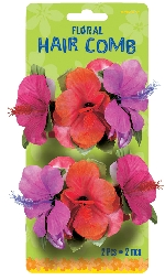 HAIR COMB TROPICAL 2 PACK