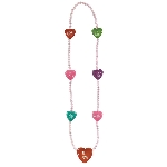 CANDY HEART BEAD COLLAR