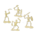 SKELETON WARRIOR FIGURINES