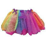 Disfraz Acc Rainbow 1st Birthday TuTu