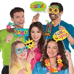 Photo Kit Hawaiian Luau Photo Props