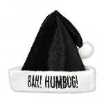 Acc. Disfraz gorro Adulto Santa Black Humbug 40cm x 30cm
