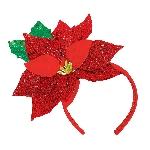 Acc. Disfraz diadema Sequin Poinsettia