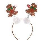 Acc. Disfraz diadema Gingerbread Glitter