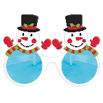 GLASSES GNT SNOWMAN