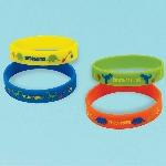 Juguetes Prehistoric Party Rubber Bracelets