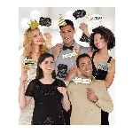 Photo Kit Gold Sparkling Celebration Add an Edad Photo Props