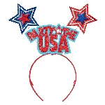 Diadema 4th of July Party in the USA Headbands