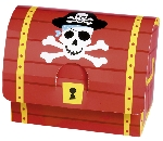 Cajas Pirate Treasure Paper Favour Boxes