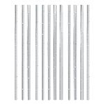 Pajitas Silver Premium Paper Straws