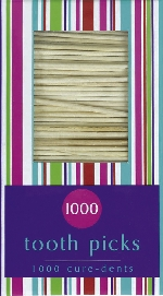 TOOTHPICKS 1000 CT