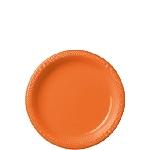 Plato Plast. 17.7Cm Naranja